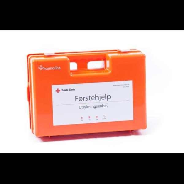 Førstehjelpskoffert utrykning (medium koffert)