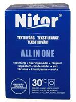 Nitor Tekstilfarge All-in-one, Koboltblå