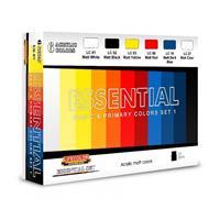 Essential Basic & Primary Colors Set 1