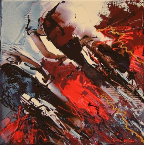 Lena Akopian-The color race II