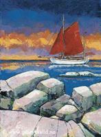 Colin archer, orginalmaleri