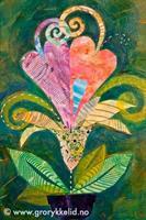 2 hearts - growing together, orginal