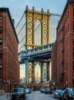 Komar fototapet Brooklyn Fiber bakside