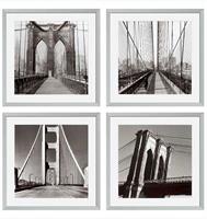 Tavlor New York Bridges, set om 4 st