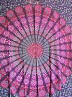 Mandala Peackock Dubbel Purpur-lila