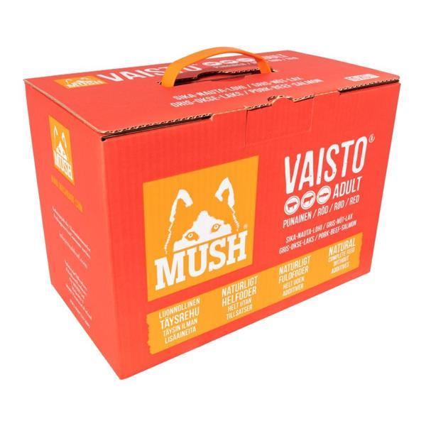 Mush Vaisto Rød 10kg