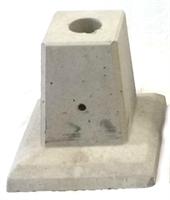 Byggplint Stabil 40x40x40 cm