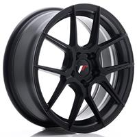 JR Wheels JR30 17x8 ET20-40 5H BLANK Matt Black