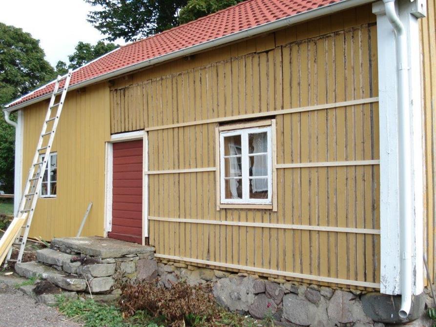 Panelbyte stort uthus