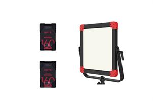 SWIT PL-E60P + PB-R160+*2-kit WaterProof LED Power
