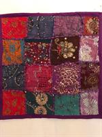 Kuddfodral indiska mönster lila