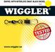 Swivel m. interlock Str 10 13kg 10pk