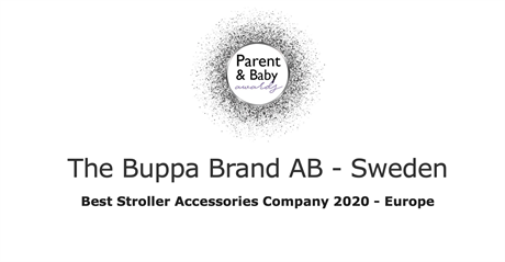 Främsta varumärket för barnvagnstillbehör i Europa 2020 enligt Lux Magazine Life