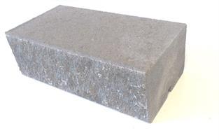 Mosaiken Knäckta Murblock Lock Skrap kant 420x210x140mm Naturgrå