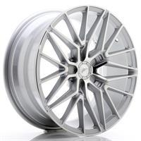 JR Wheels JR38 19x8,5 ET20-45 5H BLANK Silver Mach