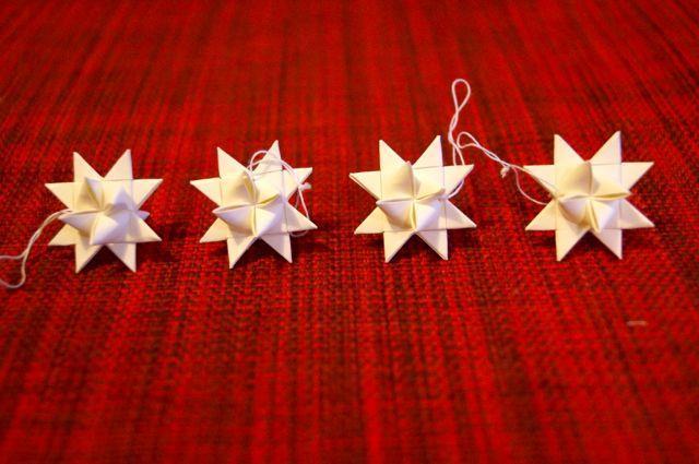 Små pappersstjärnor