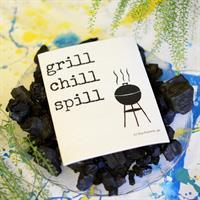 Design disktrasa från Erika Tubbin Grill chill spi