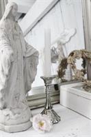 Ljusstake i glas för kronljus ifrån Jeanne d'Arc l