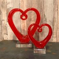 Hjärta röd
