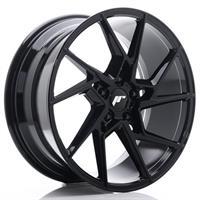 JR Wheels JR33 20x10 ET20-40 5H BLANK Gloss Black