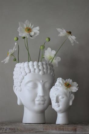 Buddha kruka och vas