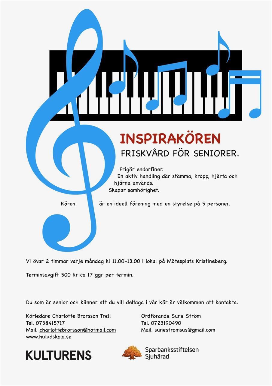 Kom och sjung med i Inspirakören