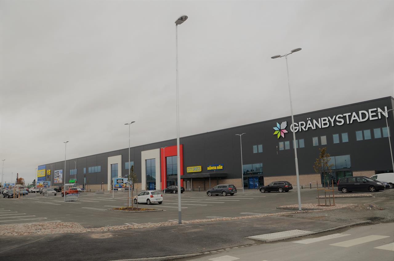 BREEAM Very Good Gränbystaden. Fastighetsägare AtriumLjungberg. BREEAM AP & Assessor Piacon AB.