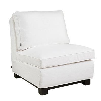 Town Loungefåtölj vit