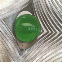 Glaskula 35 mm grön