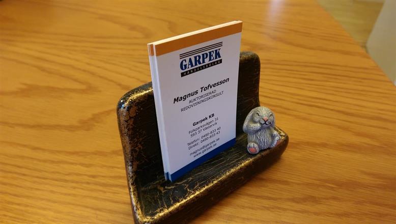 Välkommen till Garpek!