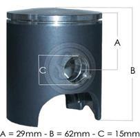 Stempel TM K8 Velg Størrelse
