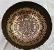 Klangskål Gravyr 23,5 cm