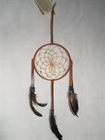 Drömfångare senapsgul 15 cm