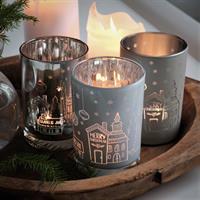 Majas God Jul lykta i silver