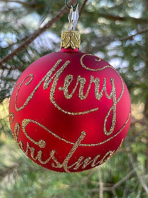 Julekule, Merry Christmas