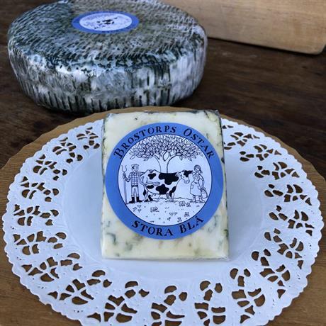 Brostorps ost stora blå