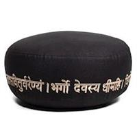 Meditationskudde Ekologisk bomull Gayatri Mantra