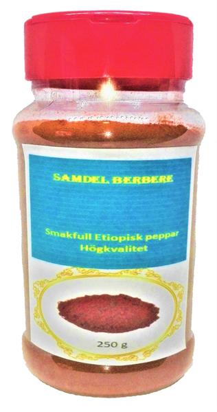 Berbere (etiopisk peppar) 250g