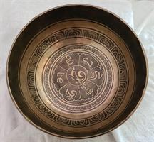 Klangskål Gravyr 20,5 cm