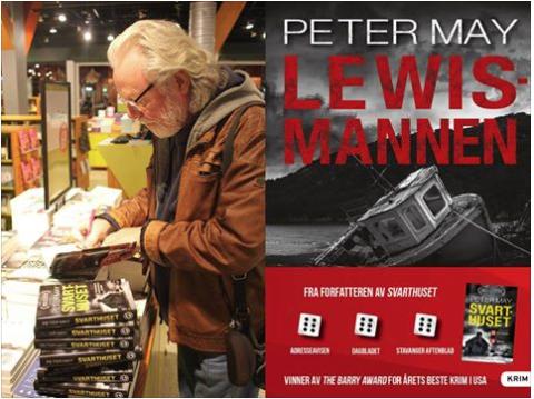 Forfatterbesøk av Peter May
