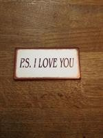 Magnet: P.s I love you