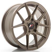 JR Wheels JR30 17x8 ET20-40 5H BLANK Matt Bronze