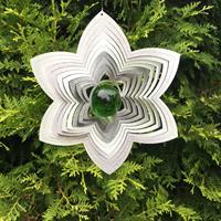 Modell Blomma grön