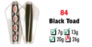 Tasmanian Devil #84 Black Toad 13.5 gram
