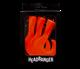 Headbanger Tail 9cm/7g 3pk Oransje