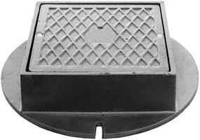 Lättbetäckning tät 300 Fyrkantig med låsarmar (utan skruv)