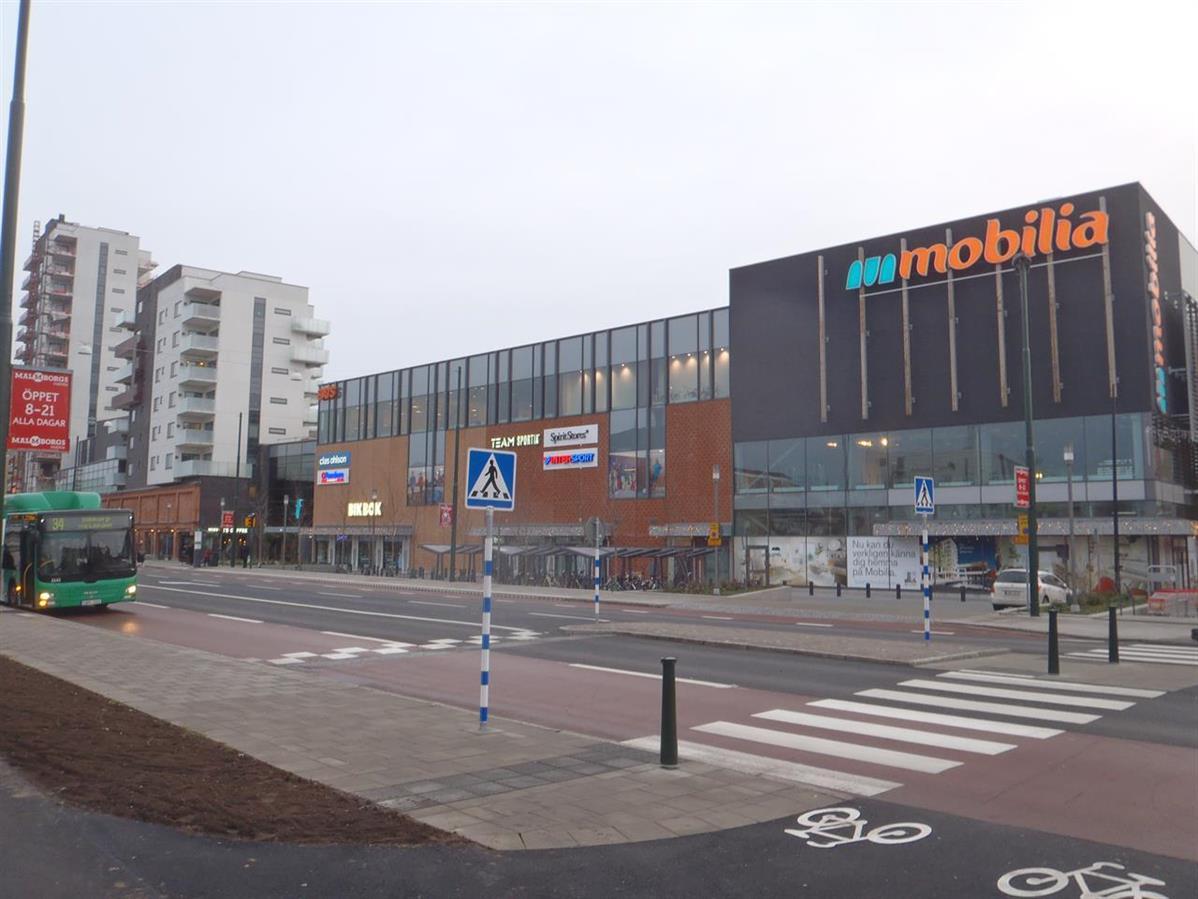 BREEAM Very Good, Mobilia shoppingcenter i Malmö. Fastighetsägare Atrium Ljungberg. Piacon var BREEAM-samordnare och Assessor.