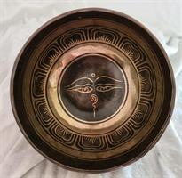Klangskål Gravyr 17,5 cm