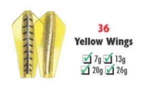 Tasmanian Devil #36 Yellow Wings 7 gram