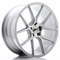 JR Wheels JR30 18x9,5 ET20-40 5H BLANK Silver Mach